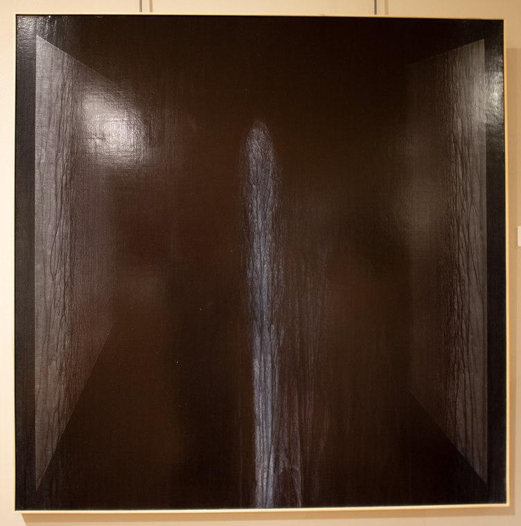 """Thin Standing Nude"" by Shaun Whiteside"