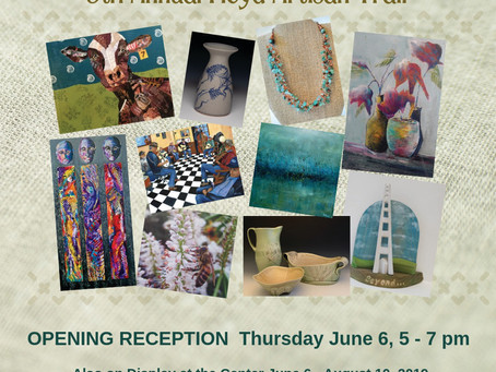 Artisan Trail Sampler, Howard Wenger and Floyd County High School Exhibitions