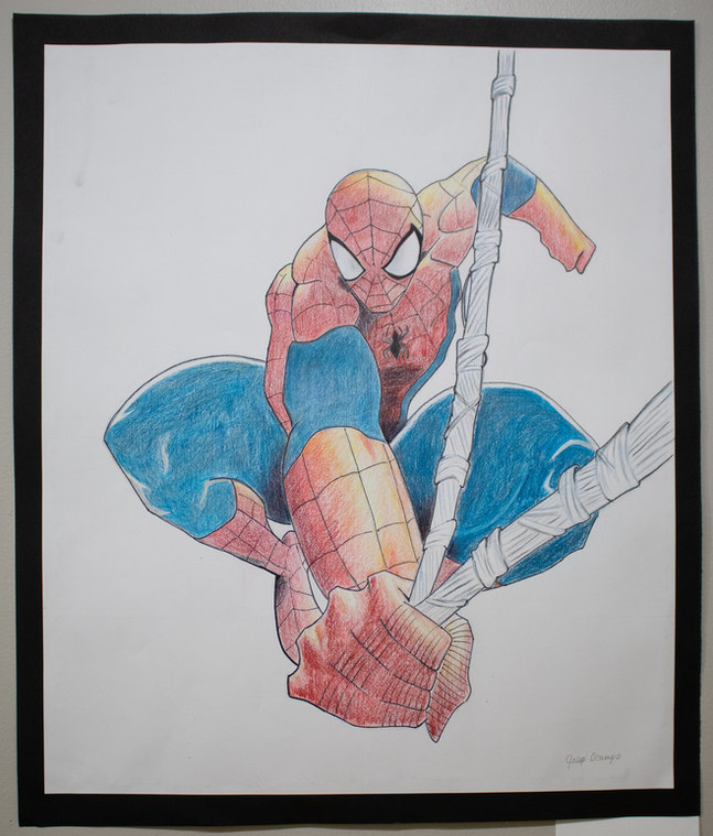 """Spiderman"" by Joseph Ocampo"