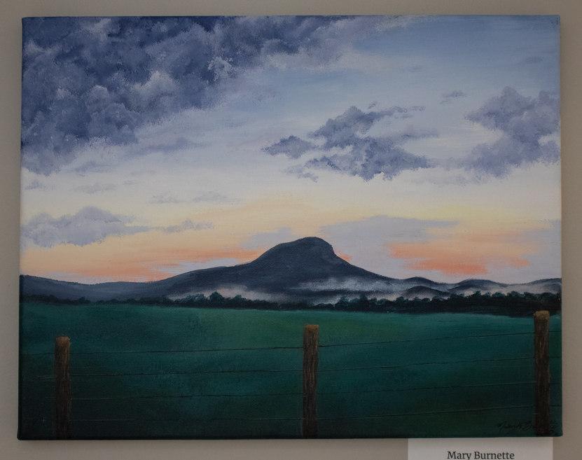 """Sunset on Black Ridge"" by Mary Burnette"