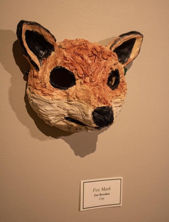 Fox Mask by Zoe Breeden