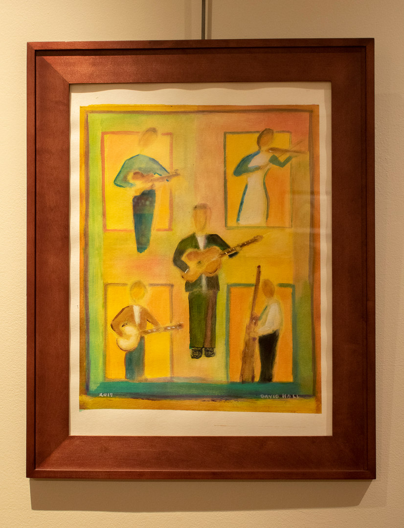 Five Musicians by David Hall