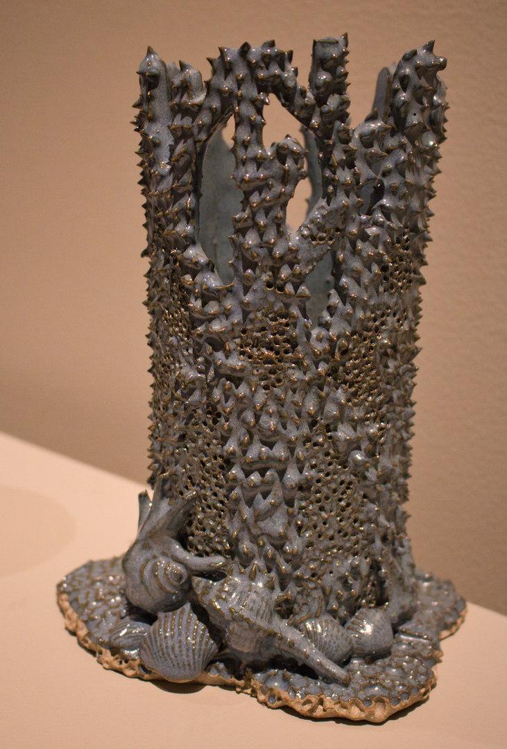 """""""Coral Reef"""" Vase by Kevin Meredith"""