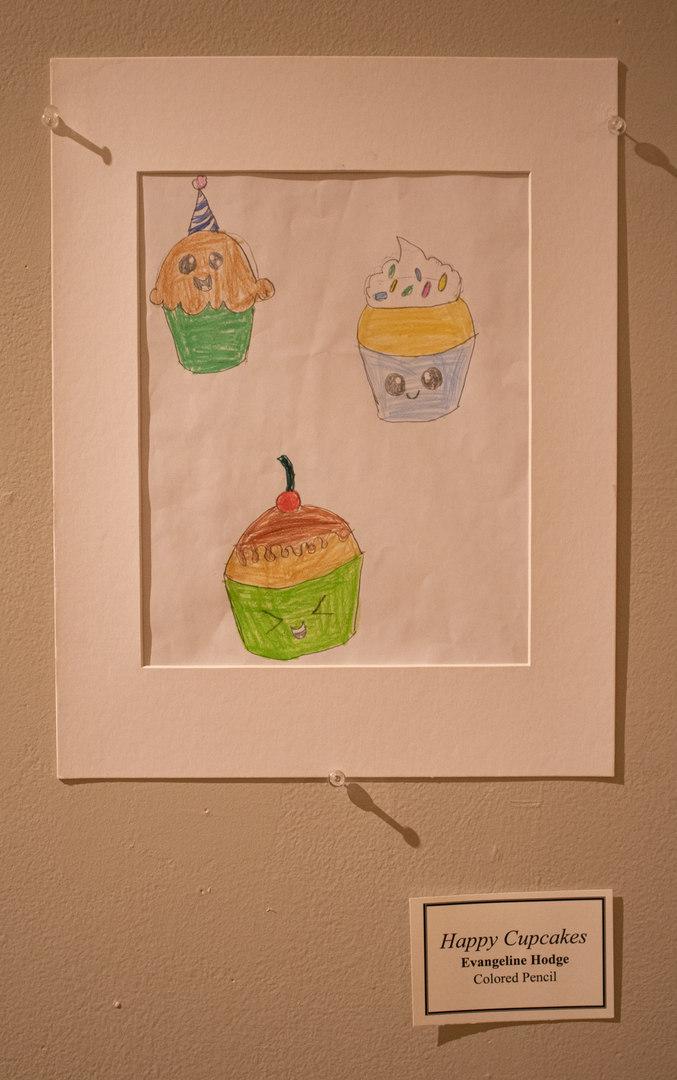 Happy Cupcakes by Evangeline Hodge