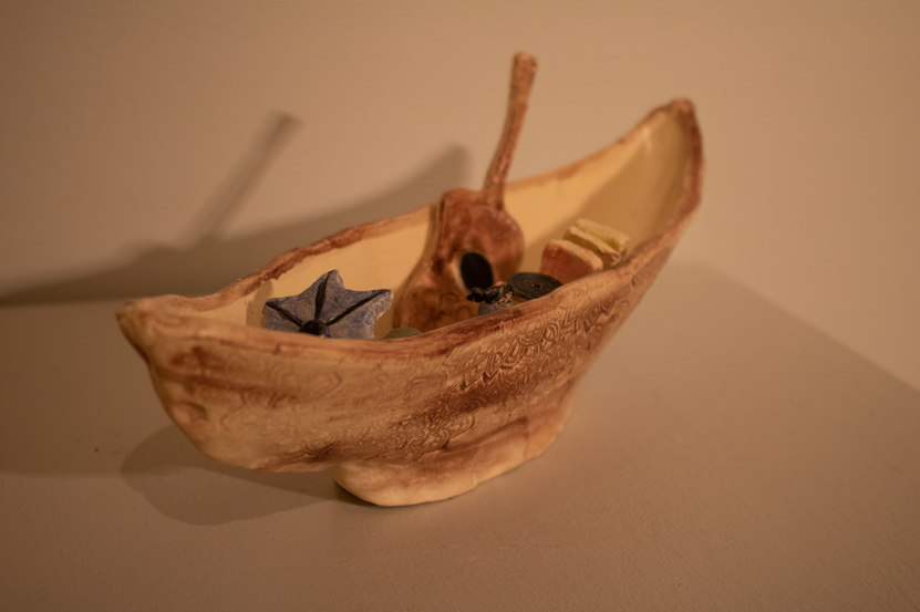 Music Boat by Zoe Breeden