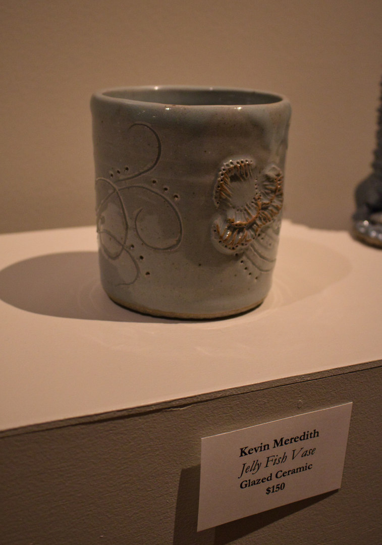 Jelly Fish Vase by Kevin Meredith