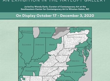 Upcoming in the Hayloft Gallery - Art Appalachia: 2020 Exhibit