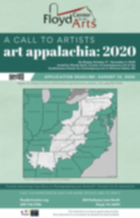 Copy of Copy of Art Appalachia 2020 Call
