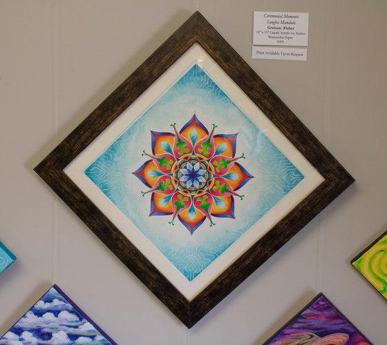 Ceremonial Moments Sangha Mandala by Graham Fisher