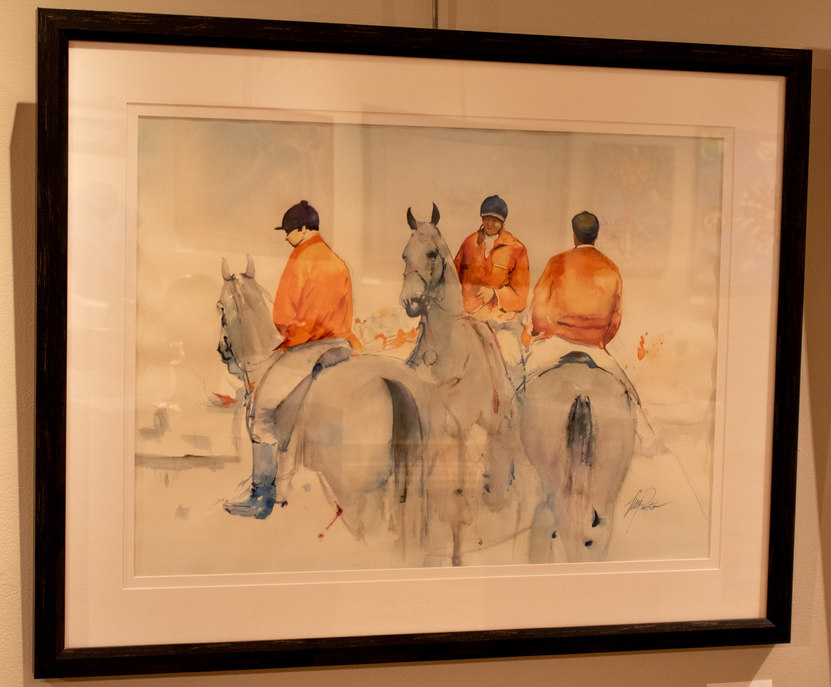 """""""Cooleemee Fox Hunt"""" by Timothy Porter"""