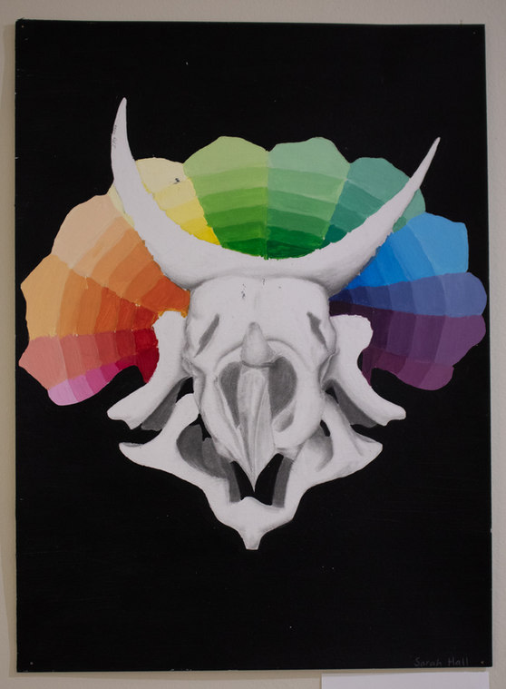 """""""Triceratop Color Wheel"""" by Sarah Hall"""