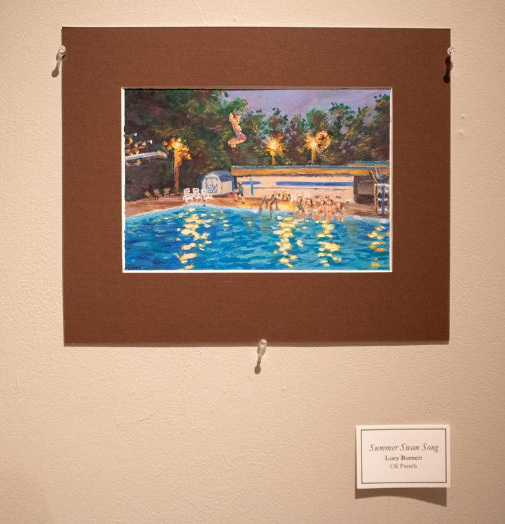 Summer Swan Song by Lucy Burnett