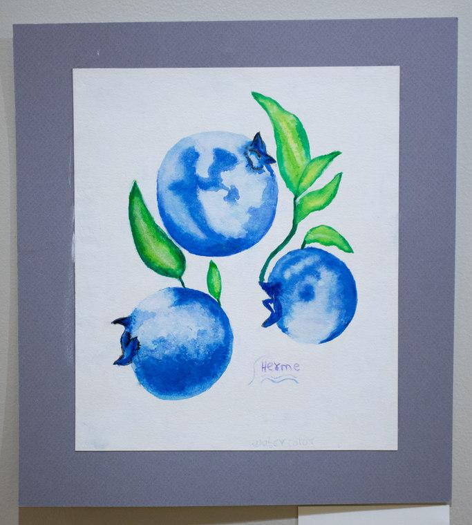 """""""Blueberries"""" by Hedmelainda Herme"""