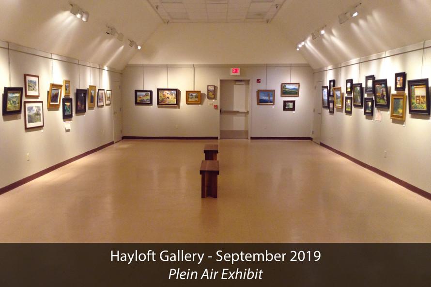 Hayloft Gallery 2019 Plein Air Exhibit 6