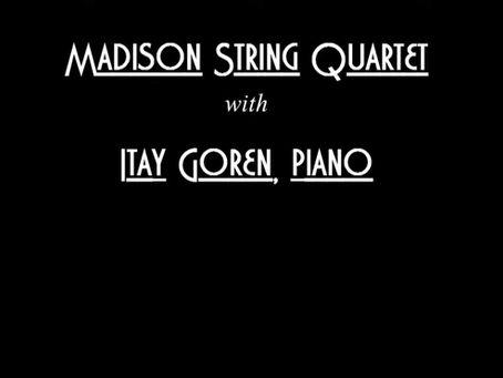 Video: The Madison String Quartet Performs Schumann - Piano Quintet