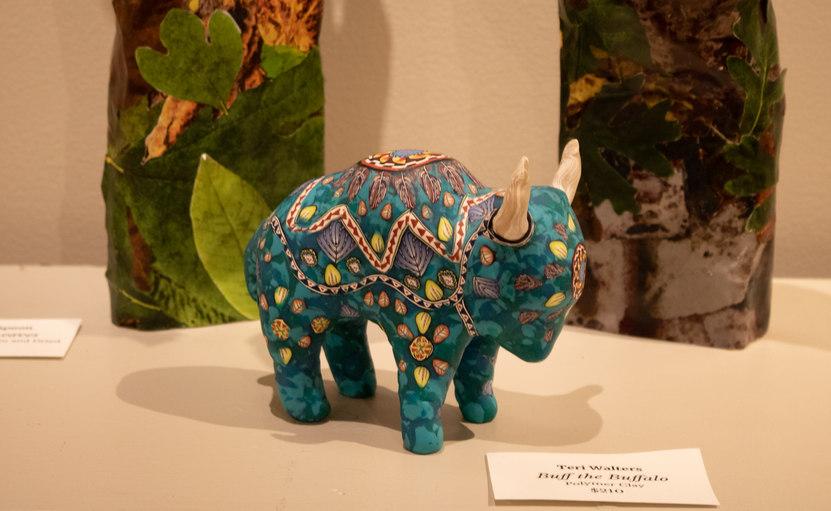 """Buff the Buffalo"" by Teri Walters"