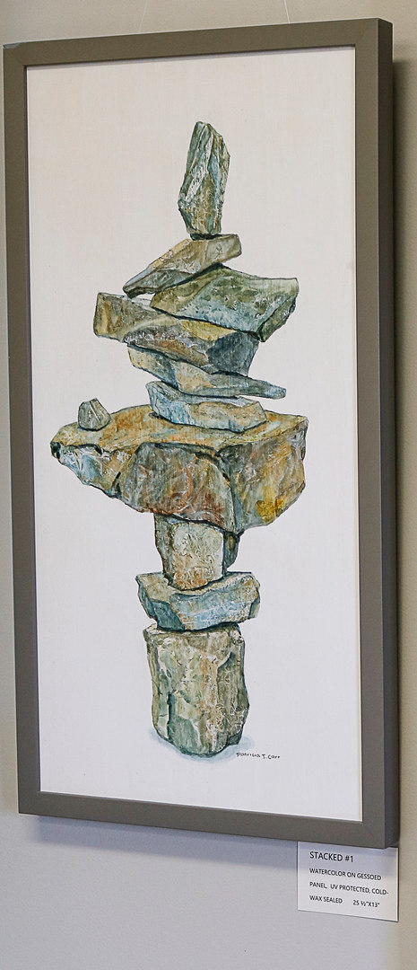 Stacked #1 by Patricia Carr