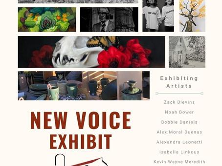 Hayloft Gallery, Feb. 13-April 3: The New Voice Exhibit
