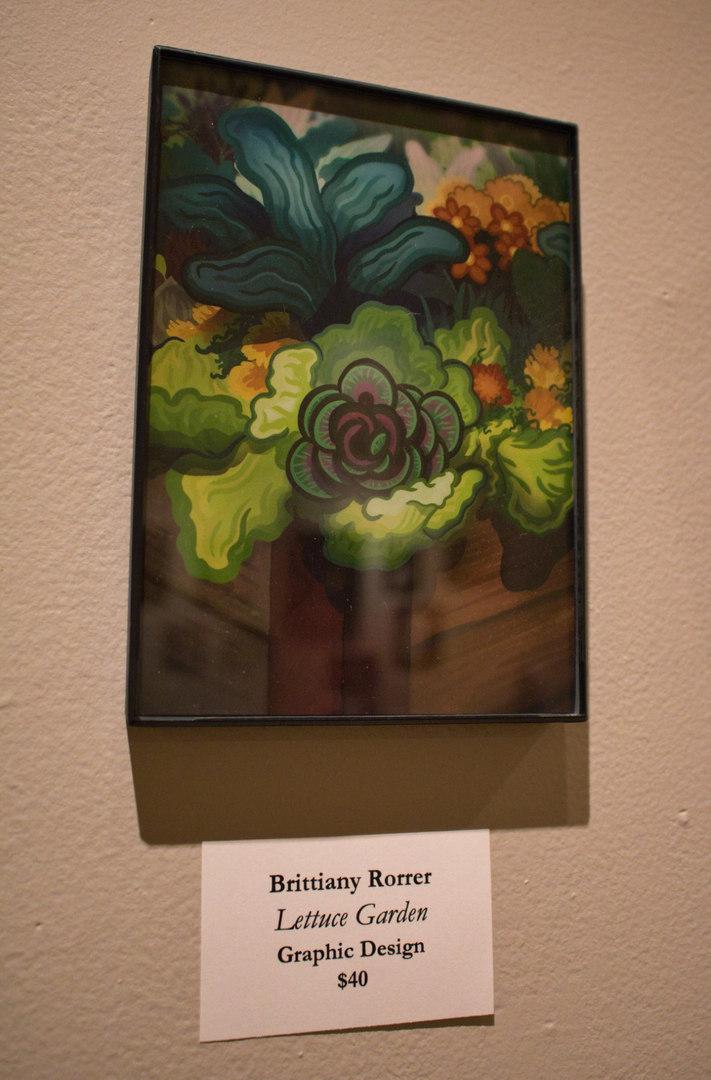 Lettuce Garden by Brittiany Rorrer