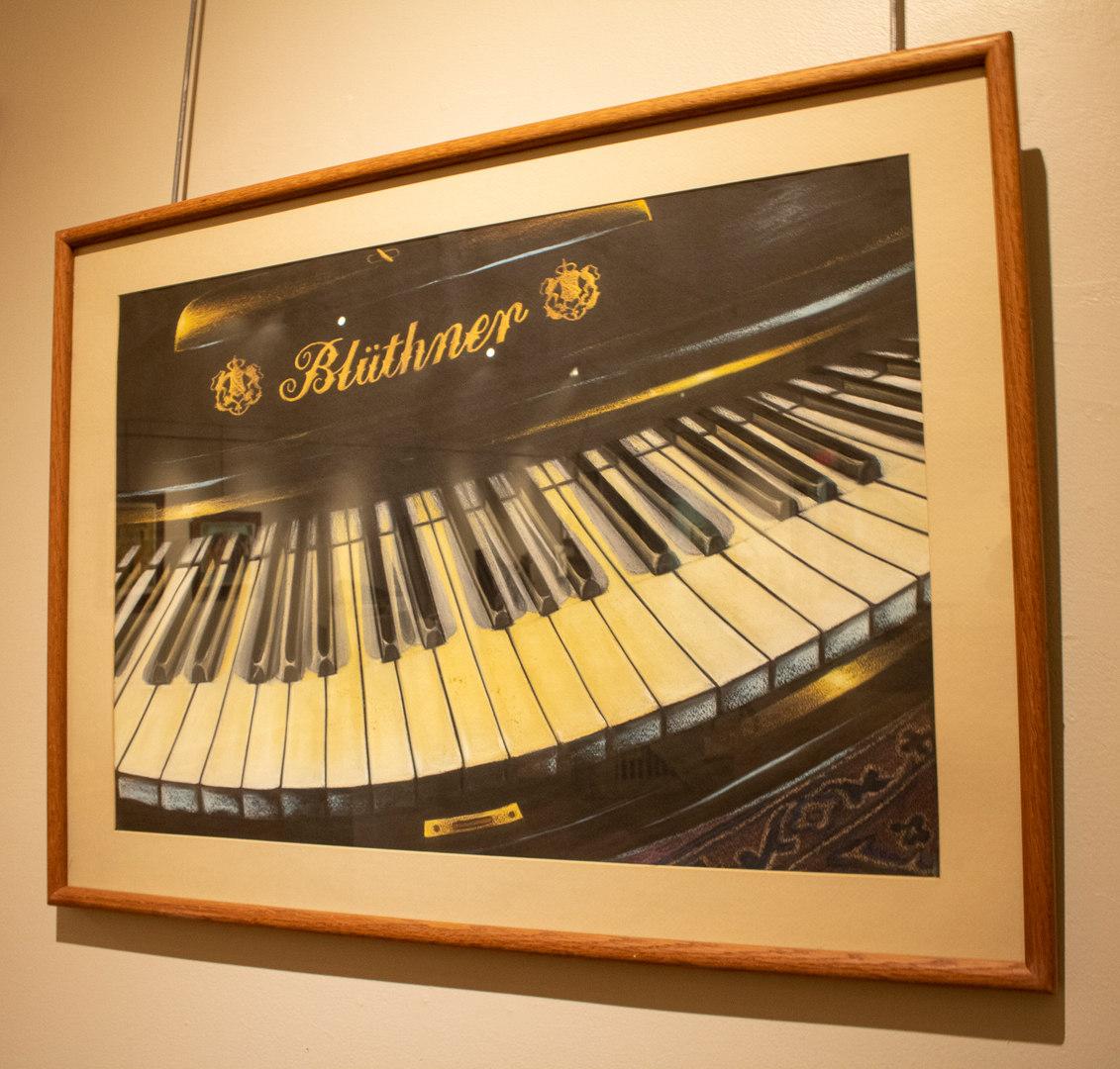 Der Bluthner by Charlotte Lou Atkins