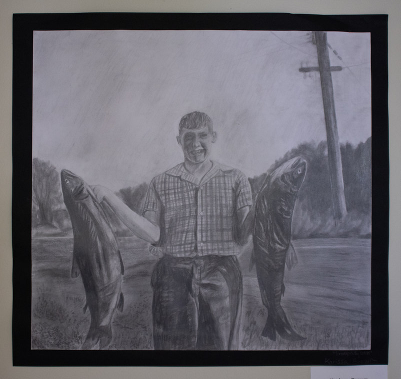 """Grandpa's Big Catch"" by Karissa Brown"