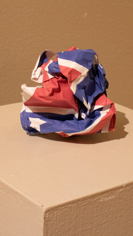 White Trash or Crushed Confederacy by Jennifer Spoon