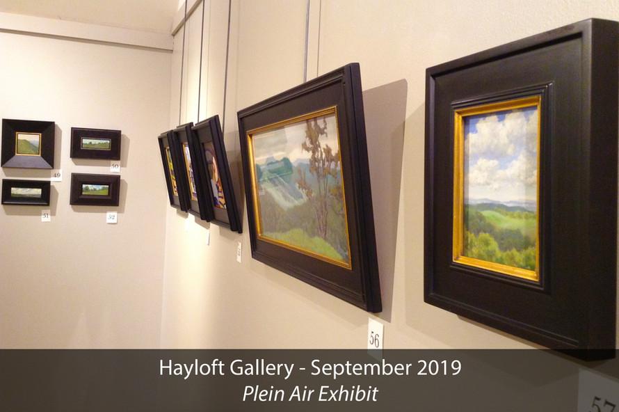 Hayloft Gallery 2019 Plein Air Exhibit 1