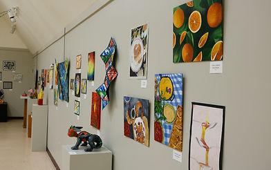 Floyd County High School Art Exhibit