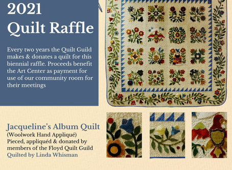 Quilt Raffle Tickets Are Now Available