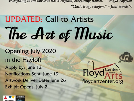 Updated: A Call to Artists - The Art of Music