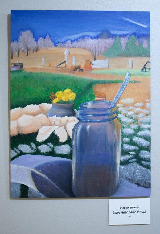 """""""Chocolate Milk Break"""" by Maggie Bower"""