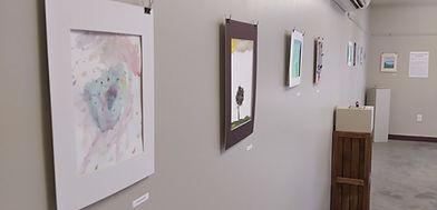 Kids Art Camp to-go Art Exhibit
