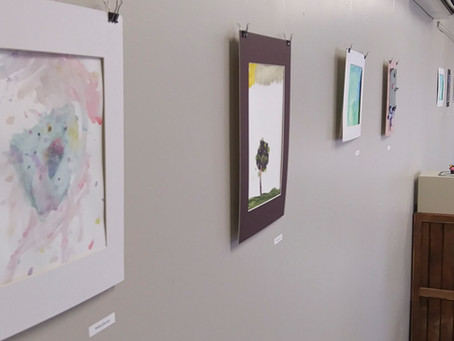 Kids Art Camp to-go Art Exhibit in the Falcon Gallery