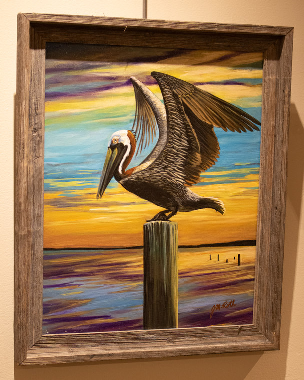 """""""Pelican"""" by Jeanette Roth"""