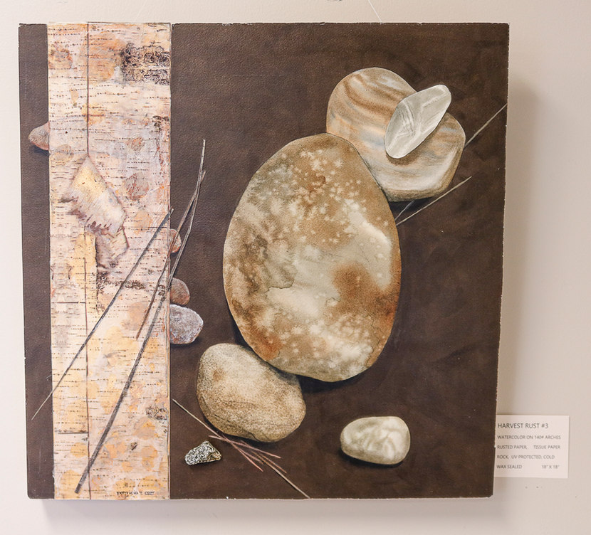 Havest Rust #3  by Patricia Carr