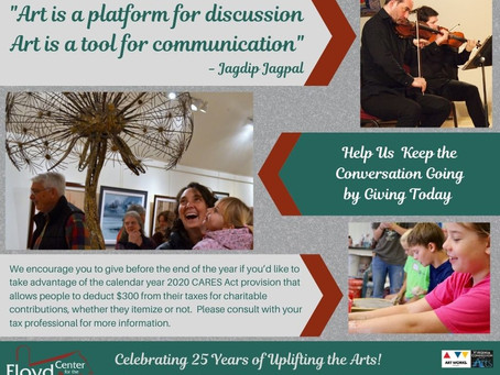 Support the Arts in Floyd with Your End of Year Gift