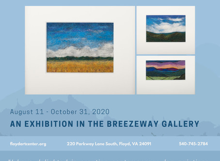Felted Landscapes & More by Heidi Bond in the Breezeway Gallery