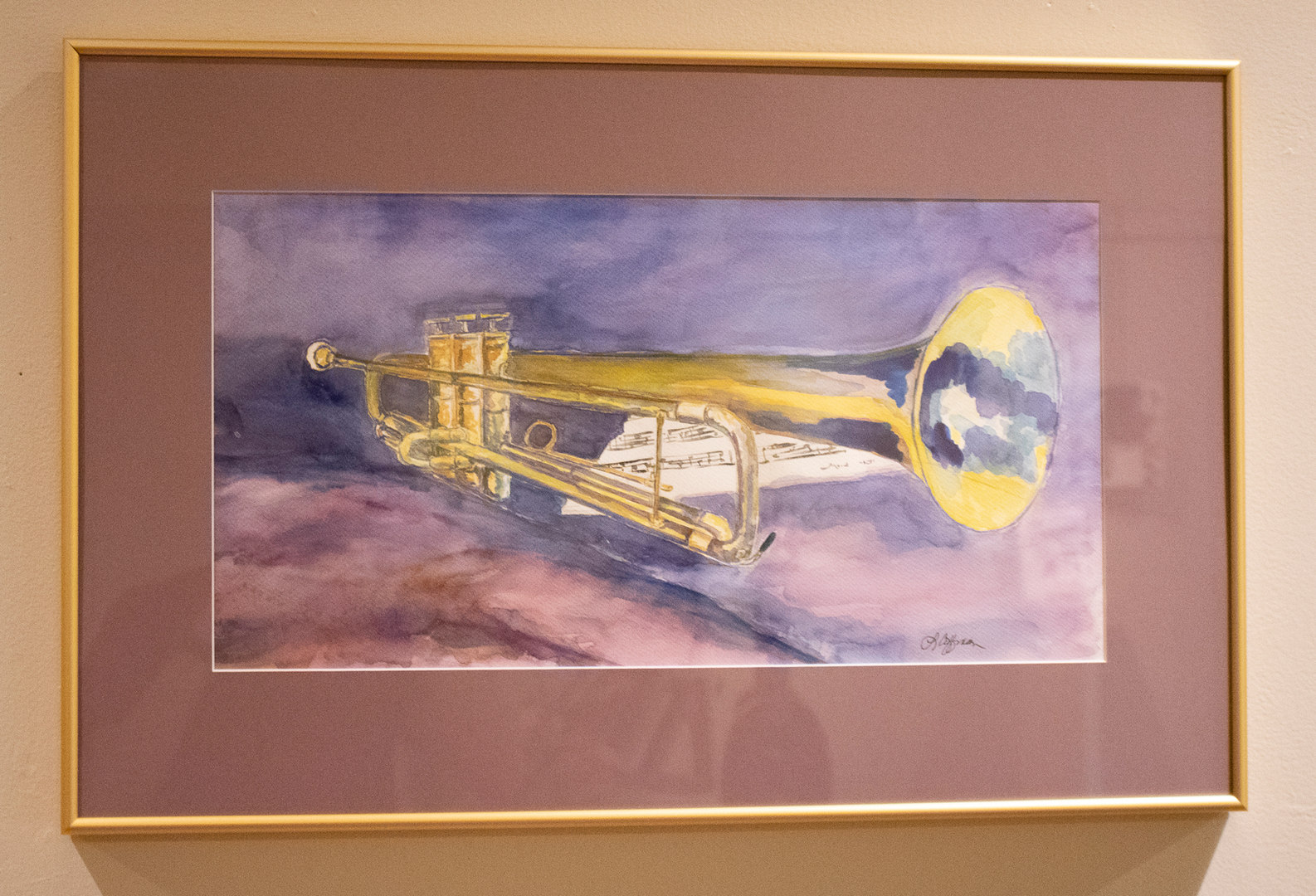 Keith's Trumpet by Leah K. Coffman