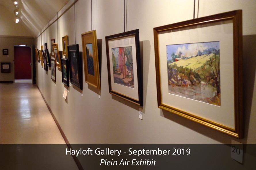 Hayloft Gallery 2019 Plein Air Exhibit 5