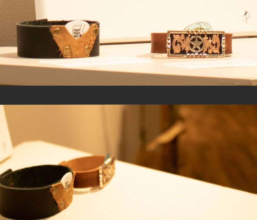Guitar Pick Bracelets [Foreground] by Renee Reed & Chuck Abbott