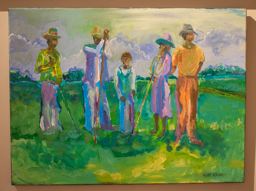 """Bayou Bourbeaux"" by Mike Gillett"