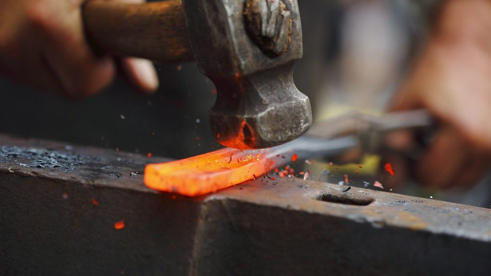 Beginning Blacksmithing Workshop, with Bryan Fritts (BLK-050121)