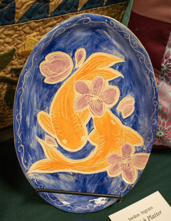 """Koi Fish Platter"" by Jordon Ingram"