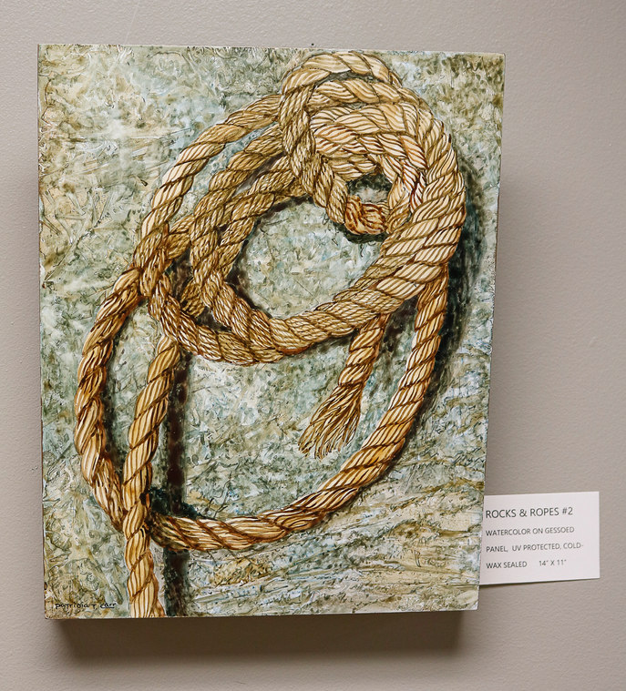 Rocks and Ropes #2 by Patricia Carr