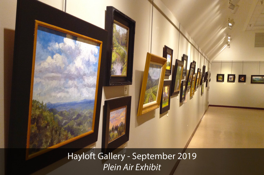 Hayloft Gallery 2019 Plein Air Exhibit 4