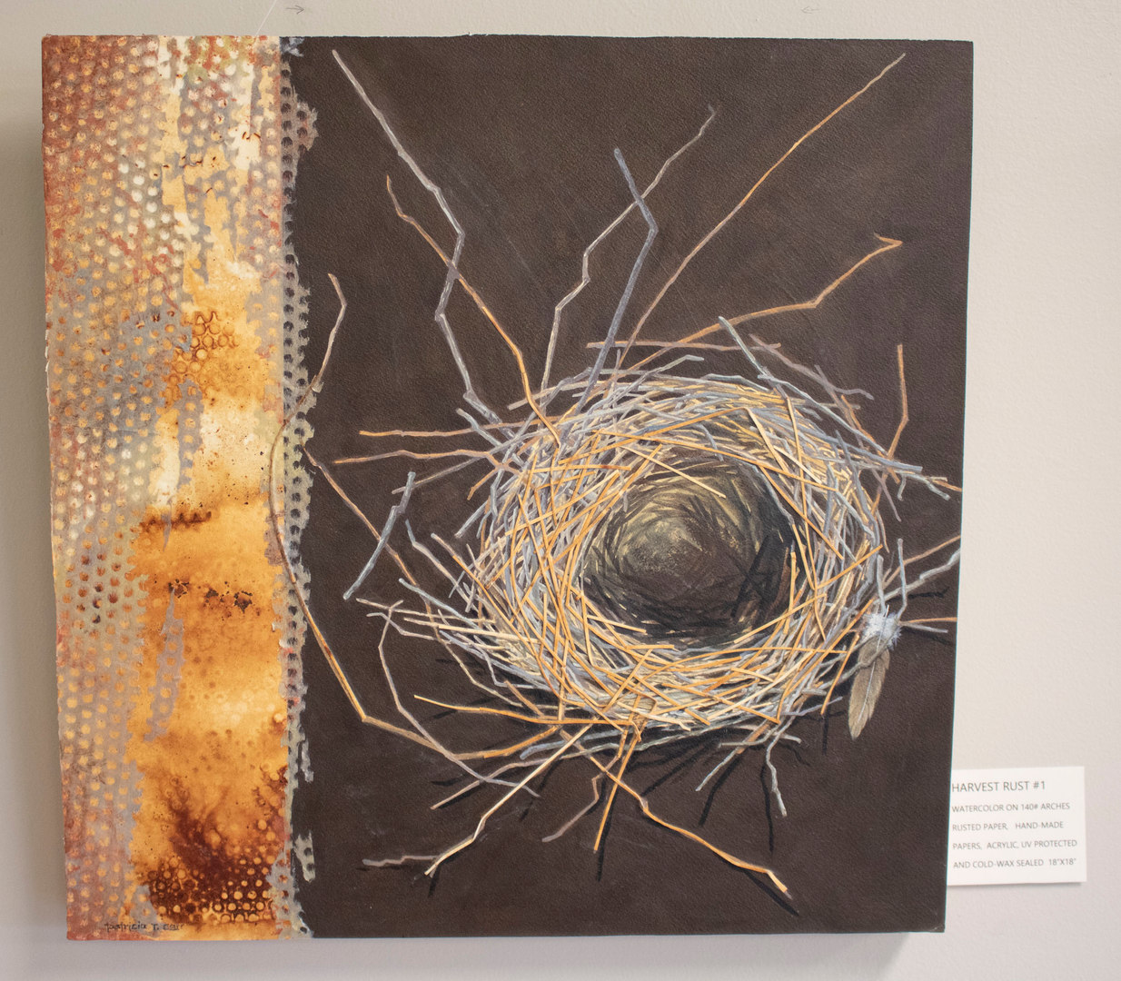 Harvest Rust #1 by Patricia Carr