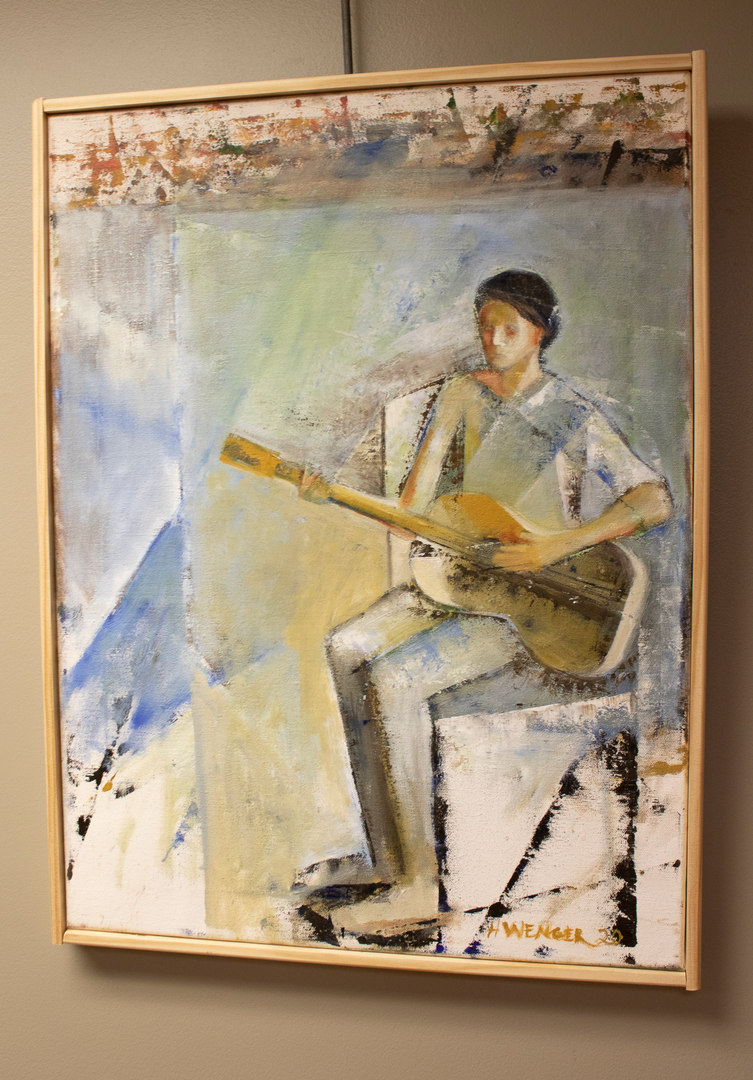 Guitar Player by Howard Wenger