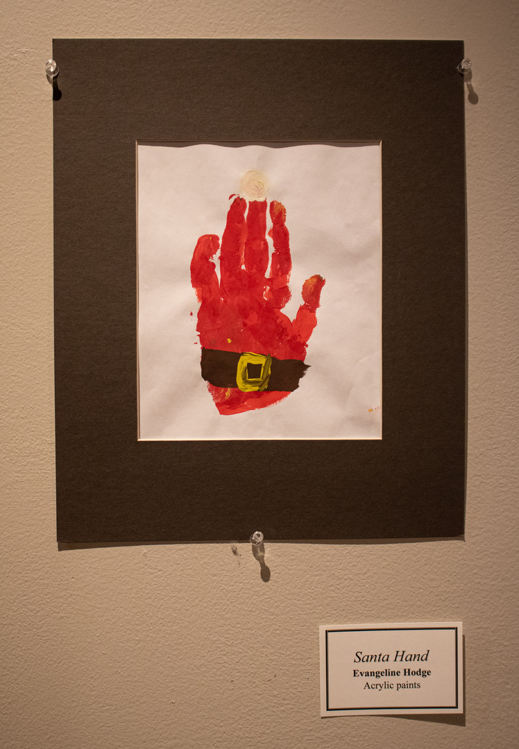 Santa Hand by Evangeline Hodge