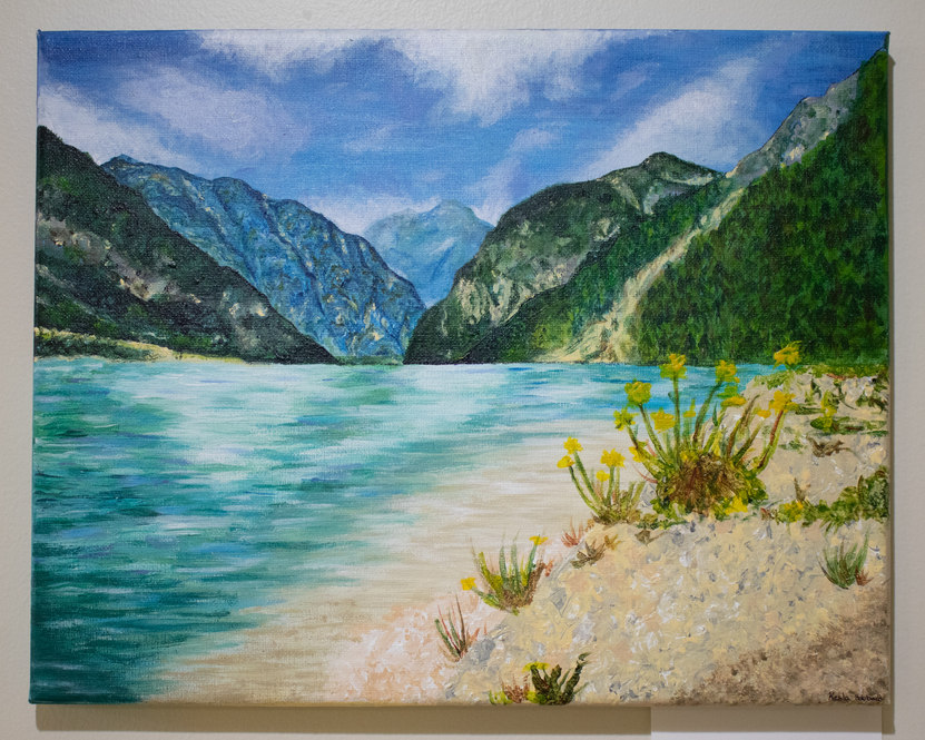 """""""Desected Island"""" by Kesla Hubbard"""