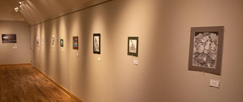 Gallery Floor - West Wall